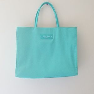 Teal Lancome Paris Bag